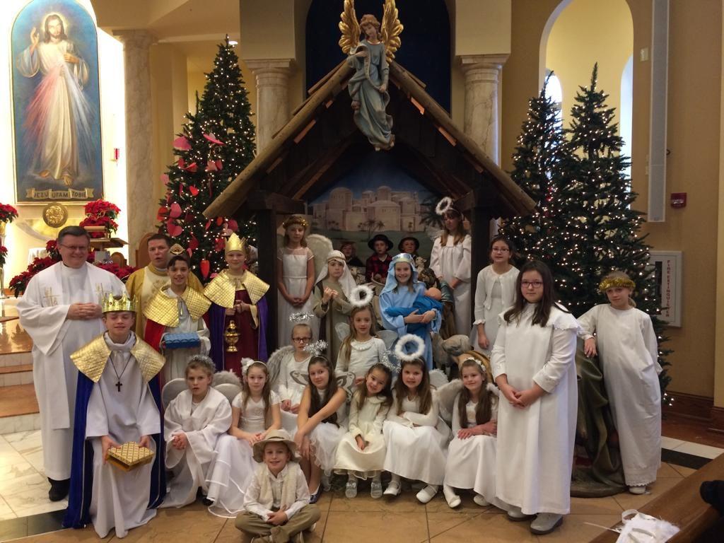 Jasełka – przedstawione przez dzieci z Oazy i Bożych Perełek